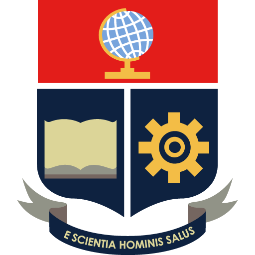 El escudo de la Escuela Politécnica Nacional, fue confeccionado por primera vez en 1958