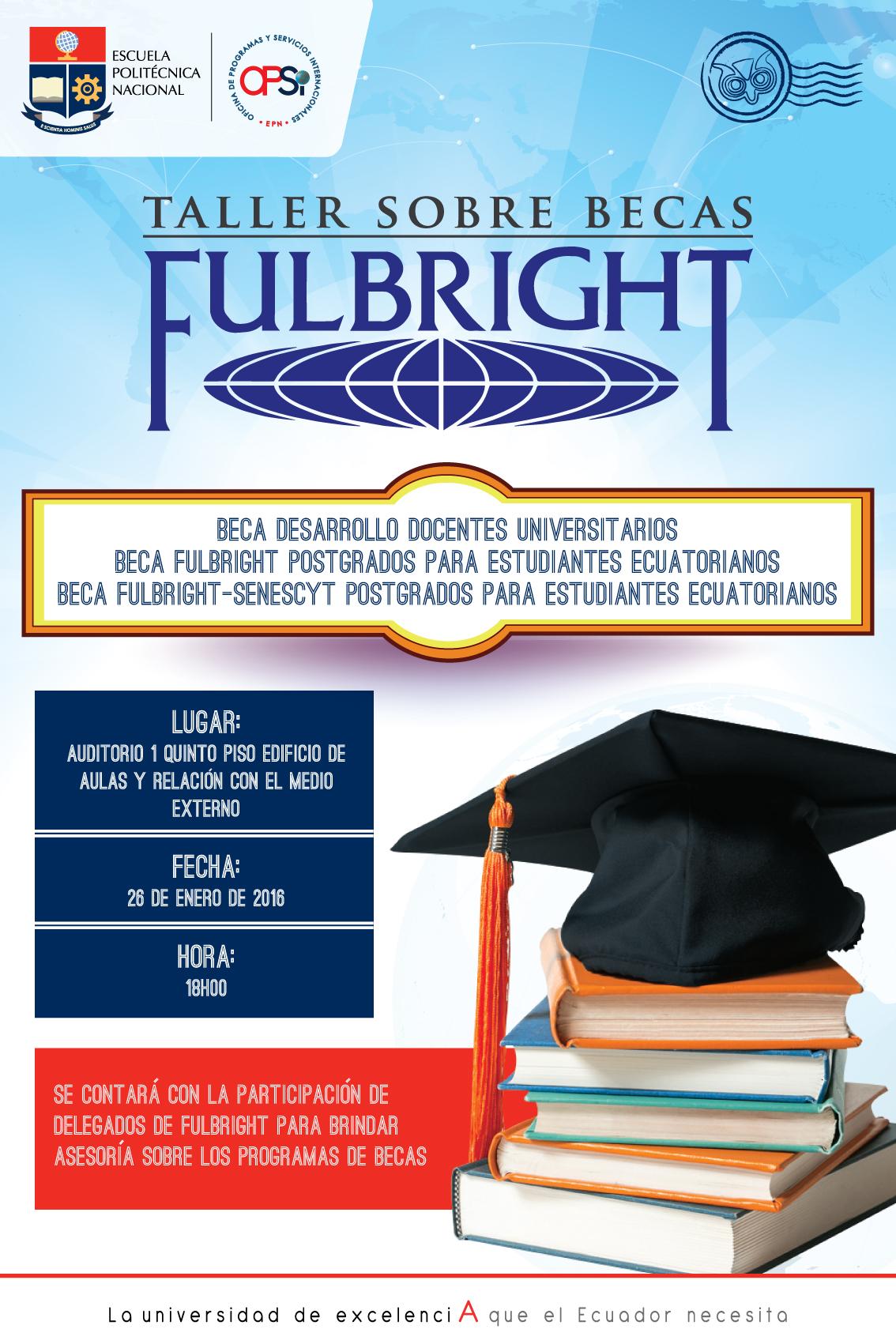 Taller - Becas Fulbright (1)