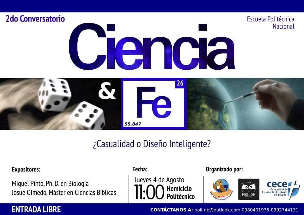 Imagen Evento Ciencia Y Fe