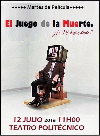 MARTES DE PELICULA 12 DE JULIO