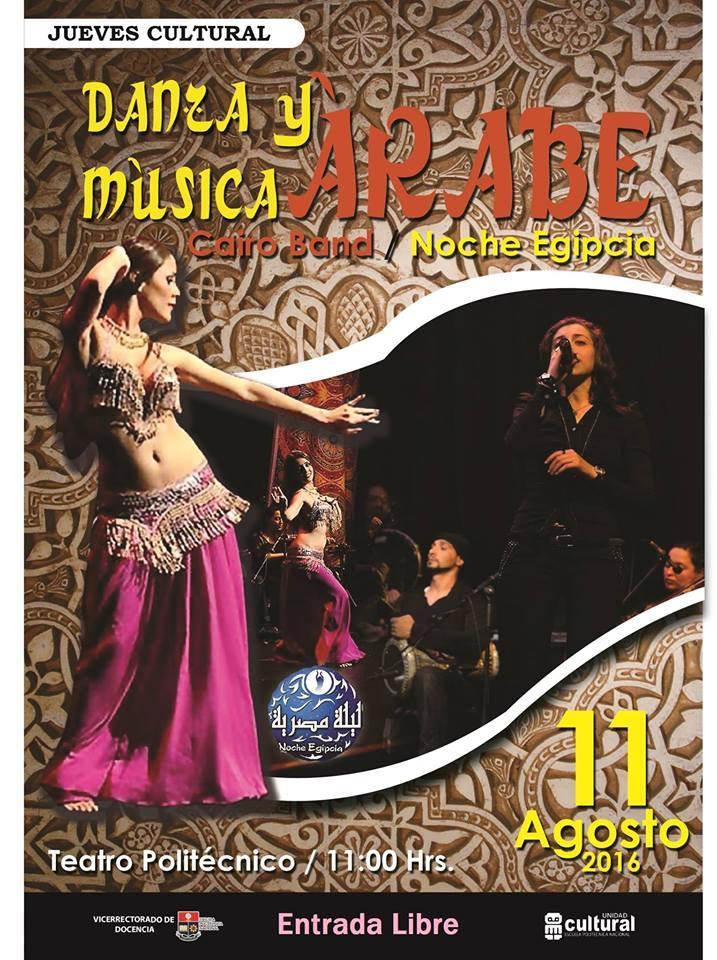 DANZA Y MUSICA ARABE