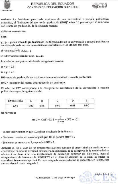 Resolución CES2-2